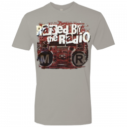 Mitch Rossell Light Grey Rasied By The Radio Tee