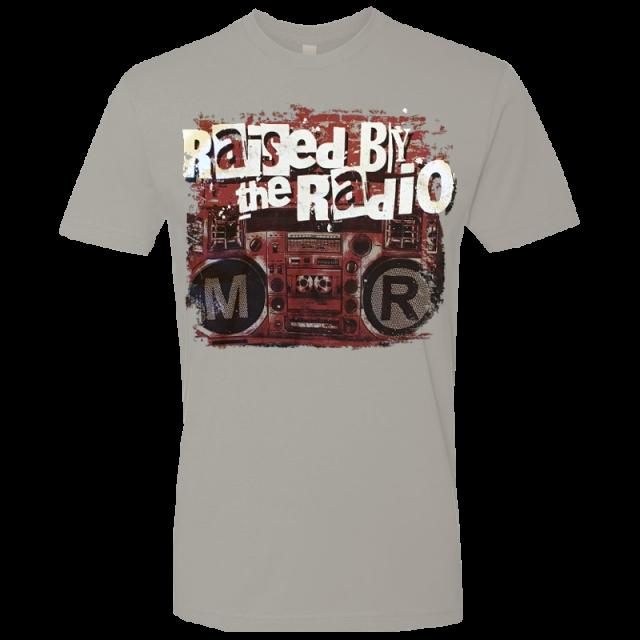 Mitch Rossell Light Grey Rasied By The Radio Tee